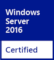 certified for windows server 2016